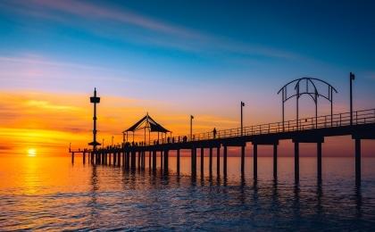 ponton sunset australie